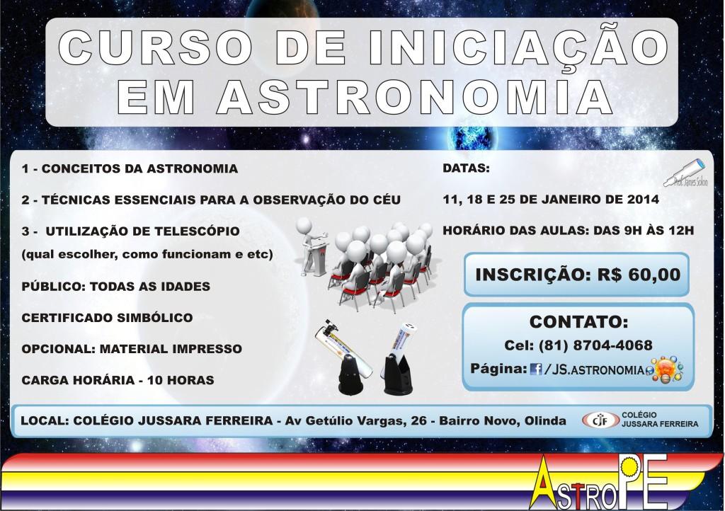 CURSO DE ASTRONOMIA (ENTRE EM CONTATO)