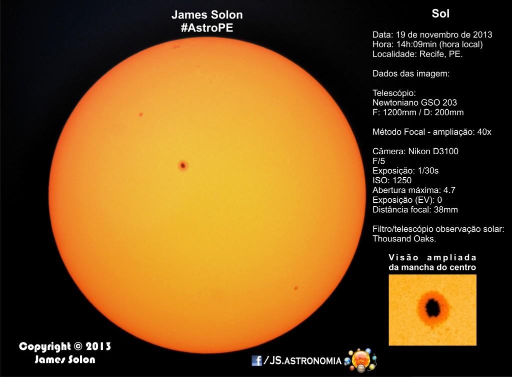 Observação do Sol - 19-11-2013 2