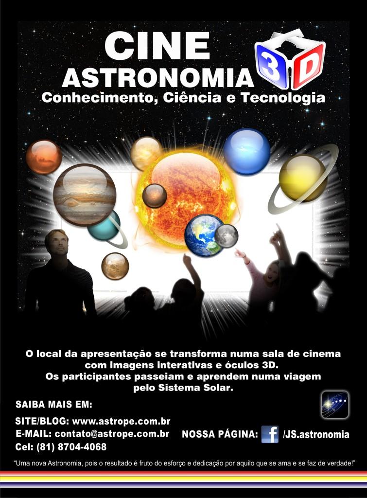 CINE ASTRONOMIA EM 3D