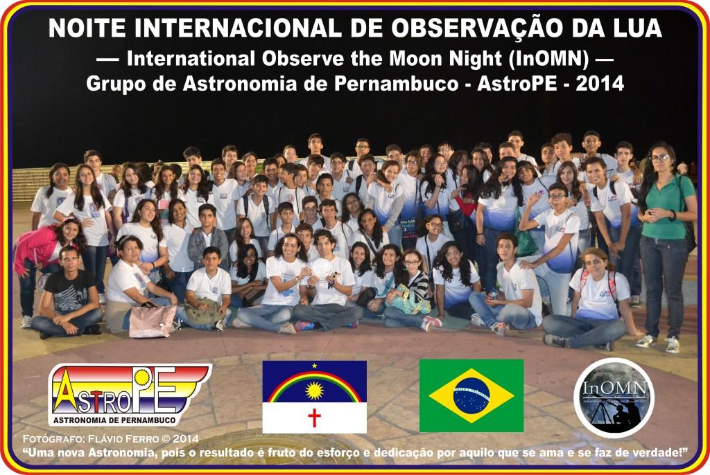 Noite Internacional de Observação da Lua - AstroPE - 2014