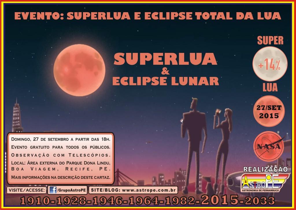 Evento - Elipse Lunar Total e Super Lua - Setembro - 2015 2