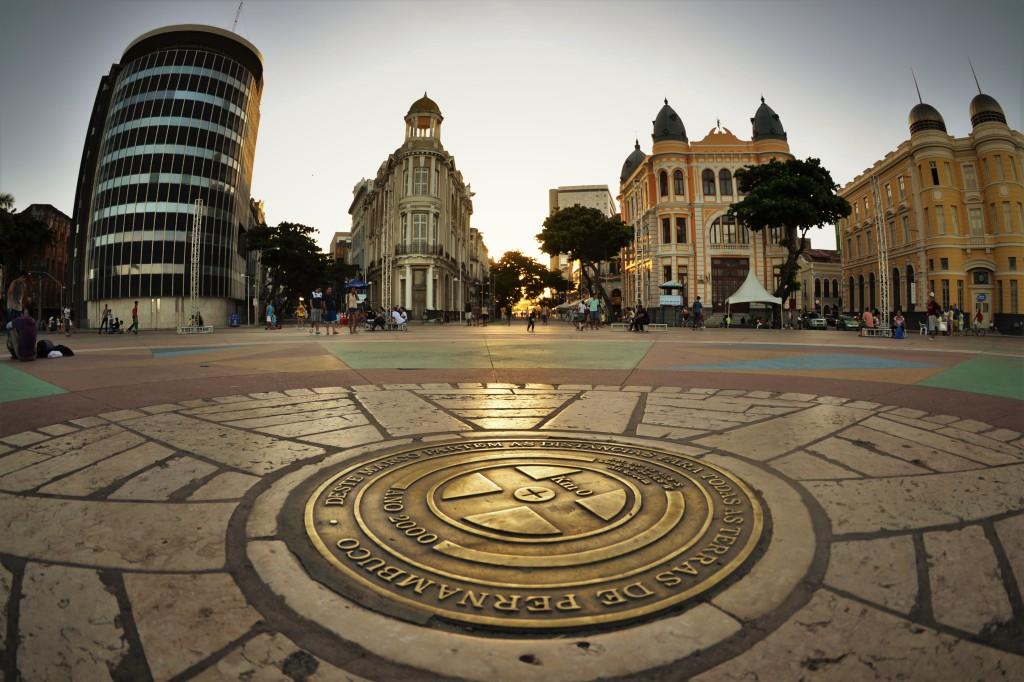 Praça do Marco Zero - Recife Antigo