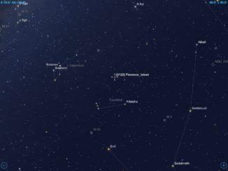 01-09-2017 - Aproximação do asteroide Florence.