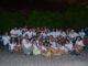 Alunos da Escola Paroquial Nossa Senhora de Fátima na aula prática de observação do céu - 31 de agosto de 2017 - AstroPE.