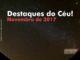 Destaques do Céu! - Novembro de 2017 - AstroPE.
