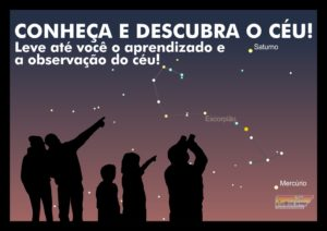 Conheça e Descubra o Céu! Leve até você o aprendizado e a observação do céu! - AstroPE.